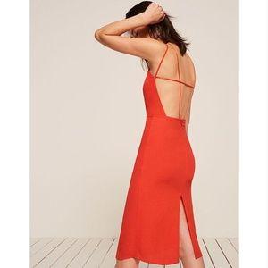 Reformation - NWT - Orange Sanibel Dress